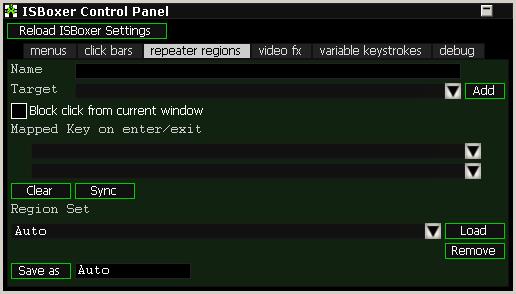 ISBoxer 41's new ISBoxer Control Panel skin